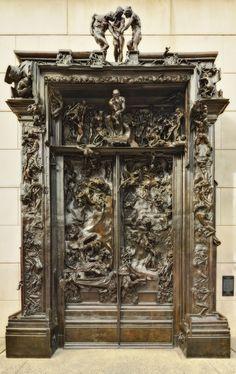 The Gates of Hell, Auguste Rodin, The Kunsthaus Zürich, Zurich.