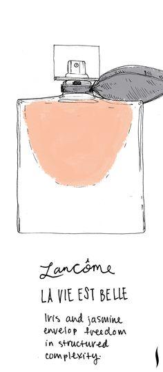 Lancome La Vie Est Belle #fragrance #sephora #topnotes
