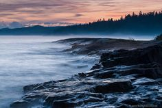 This is my favorite place to sit and just BE!  Bryan Hansel photography. Grand Marais, MN
