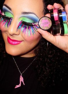 B-Slap Cosmetics Neon Makeup