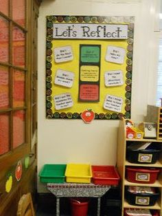 """""""Let's Reflect"""" was one of the best things I incorporated into my classroom last year...with first graders! Insightful and allowed me to target strugglers for specific tasks.:"""