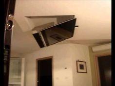 TV MOVING MFL - Staffa TV motorizzata da soffitto | Motorized TV Ceiling...