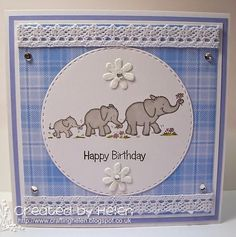 Using one of the new Dinkies stamps which will be added to the Little Claire website very soon.