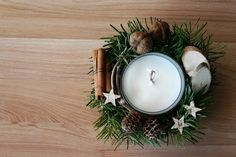 Flowers of Soul Christmas Decorations, Table Decorations, Tea Lights, Wreaths, Candles, Flowers, Home Decor, Corona, Decoration Home
