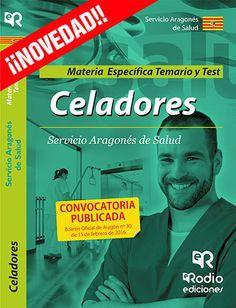 9788416506859 Celadores. Materia Específica. Temario y test. Servicio Aragonés de Salud