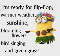 Ready for warmer weather? Happy first day of spring.