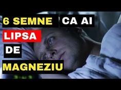 6 semne ca ai lipsa de MAGNEZIU | Arborele vietii - YouTube Optimism, Youtube, Blog, Folklore, Medicine, Insomnia, Positivity