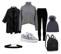 """Untitled #16"" by nerma-brigic ❤ liked on Polyvore featuring Woolrich John Rich & Bros, Puma, River Island and Dolce&Gabbana"