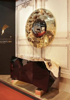 Limited Edition Mirrors: An Explosion of Passion and Luxury | Discover more: http://designlimitededition.com/