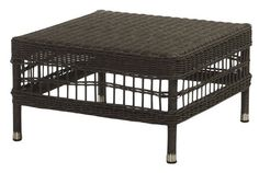 Rattan Coffee Table/ Footstool - - Hicks and Hicks Conservatory Furniture, Outdoor Furniture, Outdoor Seating, Outdoor Decor, Rattan Coffee Table, Ottoman, Foot Stools, Outdoor Products, Interior