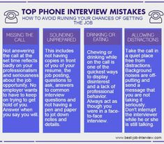 Preparing for phone interview questions. How to ace a phone job interview. Interview Questions And Answers, Job Interview Tips, Job Interview Preparation, Job Hunting Tips, Job Info, Phone Interviews, Job Career, Career Advice, Resume Tips