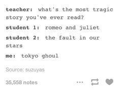 I seen tragicer anime