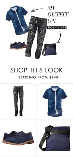 """""""Outfits #4"""" by emil-d-grand on Polyvore featuring Philipp Plein, Cole Haan, Michael Kors, men's fashion e menswear"""
