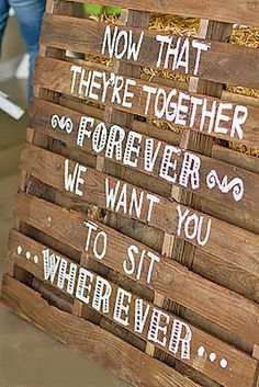 30 Rustic Wedding Signs & Ideas for Weddings