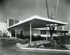 On McKee Road in San Jose, California. I was exploring the OAC website and discovered this great collection of photographs from this photographer Arnold Del Carlo. Here are some of my favorites I found. San Jose State University, Commercial Architecture, Futuristic Design, Santa Clara, Googie, Shopping Center, Bowling, Mid-century Modern, Mid Century