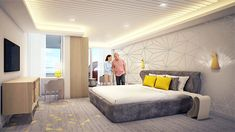 Spectrum of the Seas 3 Bedroom Suite