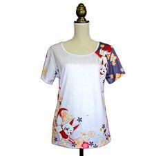 Limited time to purchase this limited design from the new Tsubaki kimono Tshirt collection now available on Etsy Sanagi Atelier shop until the 3rd of june only !  Vous avez un temps limité pour commander ce design de la nouvelle collection de Tshirt kimono Tsubaki qui sera disponible sur la boutique Etsy de Sanagi Atelier jusqu'au 3 juin seulement !  #japan #tshirt #kimono #kawaii #colorful #Bunny #rabbit #usagi #esty #etsyshop