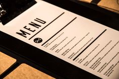 People Cafe Identity by Adam Wouldes, via Behance