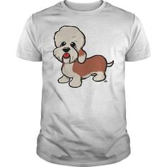 Dandie Dinmont Terrier cartoon dog 1798