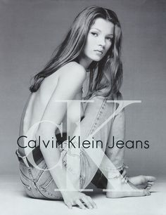 Kate Moss for CK (Sorrentini)