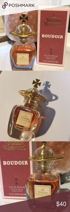 """Vivienne Westwood """" Boudoir """" EDP 1oz This is a gorgeous , sexy fragrance . It features notes of cinnamon , bergamot , orange blossom , powdery vanilla ,  sandalwood , rose , jasmine and more . I would call this an """" intimate """" scent ! The bottle is about 90% full and comes with box . I have other fragrance listings as well ! Vivienne Westwood Other"""