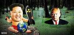 Korejská krize: Rozbuška světové války? Británie již hrozí Rusku jaderným úderem. Bažiny Západu s prsty na spouštích. Kimova armáda nebude pro agresora snadným soustem. Uvízne Trump v korejské pasti? Mrazivé jaro 2017