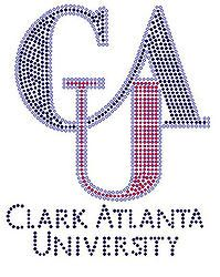 Clark Atlanta University Rhinestone Transfer