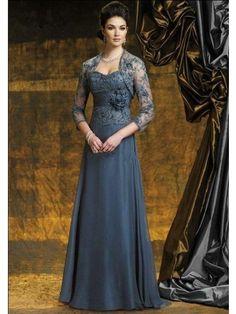 A-line/Princess Applique Lace Mother Of The Bride Dresses £81.00