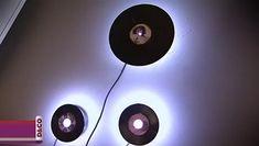 Tractors 448178600393932167 - disque vinyl lampe Source by cecilouk Vinyl Record Crafts, Vinyl Records, Vinyl Platten, Garage Cafe, Handmade Lamps, Wood Look Tile, Gamer Room, Cassette, Room Goals