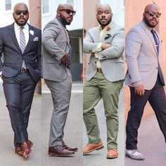 Most of the time, modern fashion is oriented around the young, thin models. If even a little bit of meat-bone build whatever, certainly can look stylish. Chubby Men Fashion, Large Men Fashion, Mens Fashion For Big Guys, Modern Fashion, Men's Fashion, Fashion Outfits, Big Man Suits, Mens Suits, Stylish Men