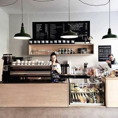 cafe shop Idealistic commanded modern kitchen styles and design Buy this item Coffee Shop Counter, Cafe Counter, Coffee Shop Bar, Coffee Store, Counter Tops, Coffee Maker, Coffee Bar Design, Coffee Shop Interior Design, Restaurant Interior Design