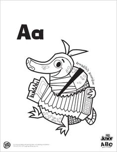 coloring pages animals alphabet youtube - photo#11