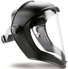 Honeywell 1011623 Bionic Face Shield with Uncoated Polycarbonate Screen Clear Lens