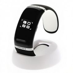 Reloj pulsera  fitness podometro bluetooth V3.0 con display tactil en color blanco