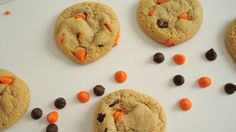 Super Soft Halloween Chocolate Chip Cookies