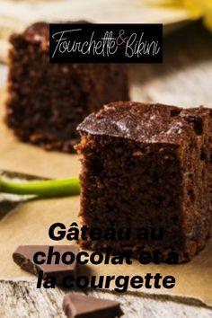 Découvrez notre recette de gâteau au chocolat et à la courgette ! Cakes, Cooking, Desserts, Food, Chocolate Fondue, Zucchini, Eat, Light Recipes, Healthy Recipes