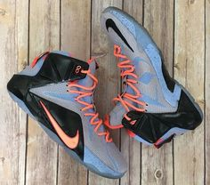 Nike Lebron XII 12 Easter Basketball Shoes Sunset Glow 684593-488 SZ 13  #Nike #AthleticSneakers