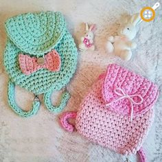 Crochet kids purse pattern hobbies 21 ideas for 2019 Crochet Backpack, Crochet Clutch, Crochet Handbags, Crochet Purses, Crochet Bags, Crochet Diy, Crochet For Kids, Crochet Dolls, Kids Purse