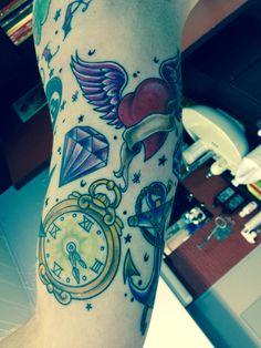 Old school tattoo!!!