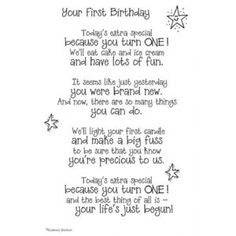 It Takes Two Poems For A Page Your 1st Birthday Sticker