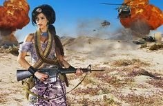 Photographer Gives Disney Princesses A Dose Of Reality-Jasmine in the Arabian Desert
