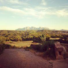 Montserrat desde Salelles