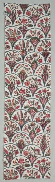 , century, woodblock print on cotton, Overall: x cm x 6 inches). Gift of Frances Morris Textile Patterns, Textiles, Textile Medium, Cleveland Museum Of Art, Woodblock Print, Detailed Image, 18th Century, Printed Cotton, Wallpaper