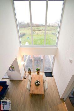 moderne esszimmer bilder: blick zur galerie | un, modern and und - Wohnzimmer Mit Galerie Modern
