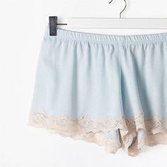 Lace Trim Shorts | ZARA HOME Sverige / Sweden
