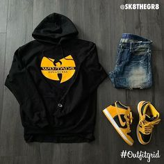 Outfitgrid started as a way of bringing the community together to showcase style. Dope Outfits For Guys, Swag Outfits Men, Casual Outfits, Hype Clothing, Mens Clothing Styles, Streetwear Mode, Streetwear Fashion, Nike Outfits, Dope Fashion