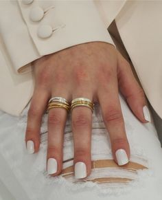 If you're looking for something chic, refined and meaningful then our Reagan ring will be the perfect accessory. Symbolising th. 3 Band Rings, Russian Wedding, Love Symbols, Timeless Design, Wedding Rings, Sterling Silver, Future, Chic, Classic