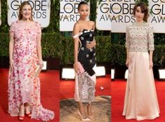 Red Carpet Trends from the 2014 Golden Vestidos 3D TheGoldenStyle