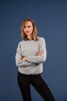 Gratis Schnittmuster Sweatshirt - Pullover für Damen ❤ mit Anleitung ❤ PDF zum Ausdrucken ❤ Schnittmuster - Freebook ✂ Jetzt Nähtalente.de besuchen ✂