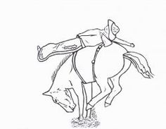 Click through to get all of my Free Printable Rodeo Coloring Pages